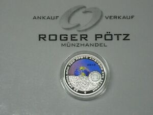 6-Silver-Pp-Colored-Moon-Landing-Ex-Stock-IN-Stock