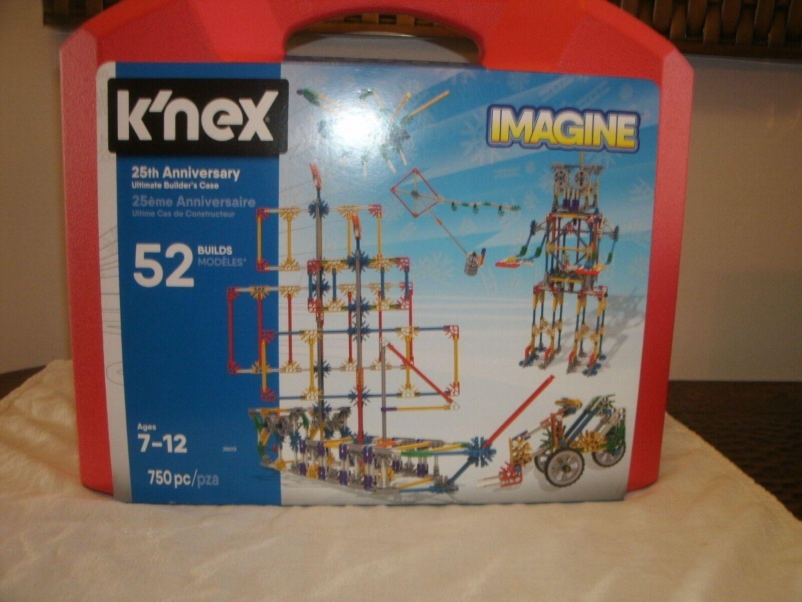 K'Nex 25th Anniversary Ultimate Builders Set Imagine NIB Never Opened