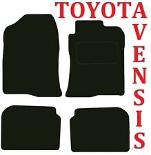 Toyota Avensis 2003-2009 Tailored Deluxe Quality Car mats Estate and Saloon