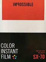 Impossible Color Film Für Sx-70 Neu 2 Filme
