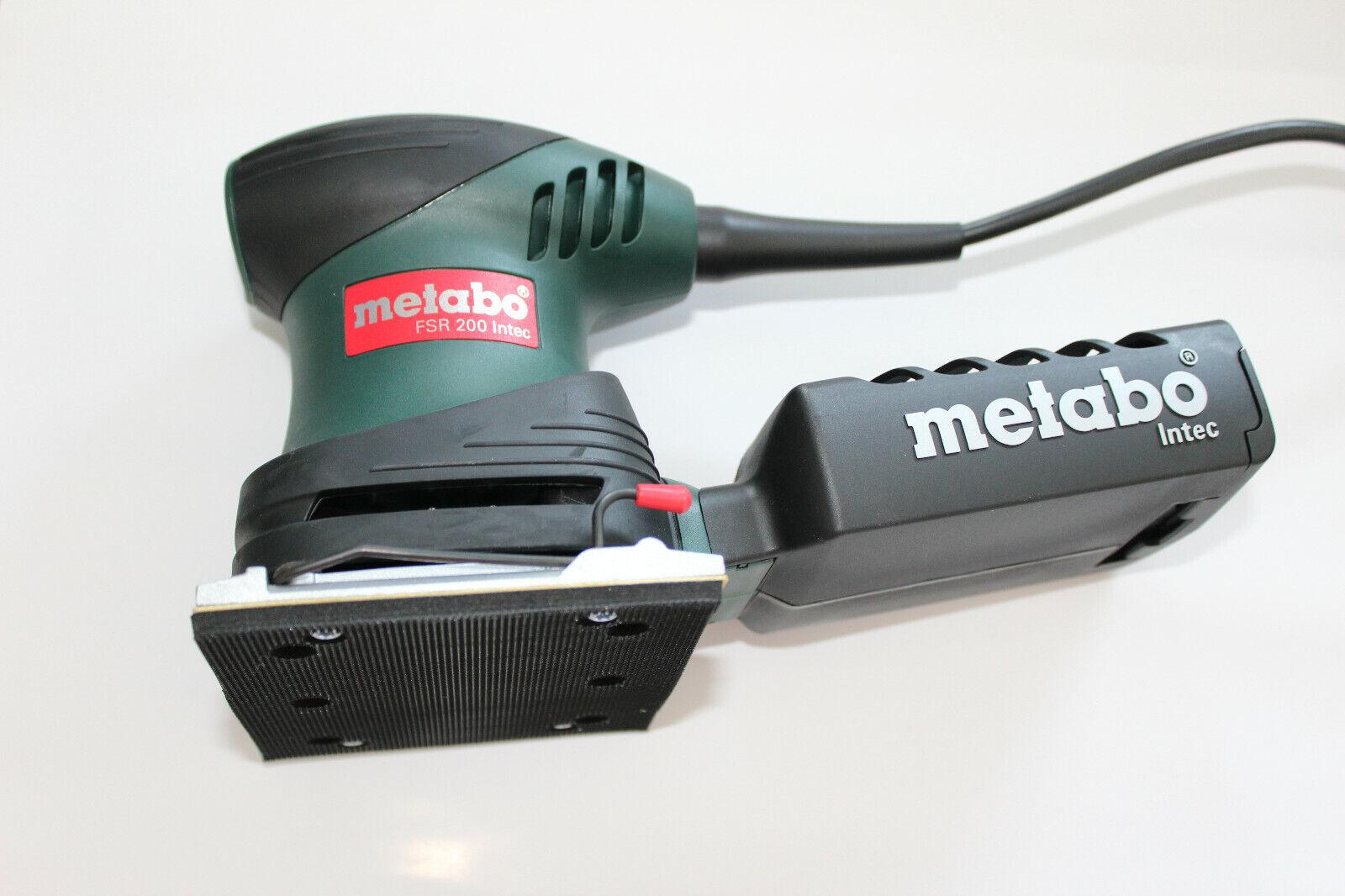 Metabo FSR 200 Intec Fäustlingssander 26000  min  114 x 102 mm 1,3kg (600066500)