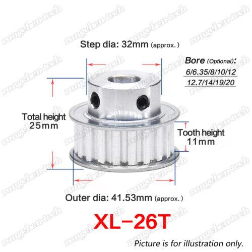8mm Acier Rouleau Chaîne Pignon Simplex Préalésage 13 Dents 05B-1-13