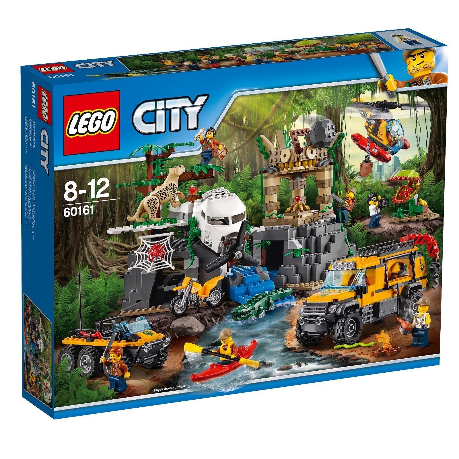 LEGO ® City 60161 la jungle-Station de Recherche Nouveau Neuf dans sa boîte