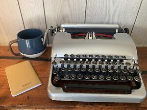 Metallic Powder Coated w/ TurboPlaten Smith Corona Sterling Standard Typewriter