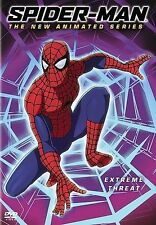 Spider-Man - The New Animated Series - Extreme Threat  Vol. 4  2005 b Ex-library