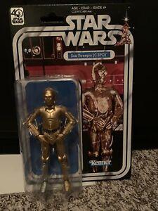 "Star Wars ANH 40th Anniv Black Series C-3PO 6"""