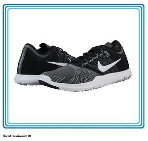 New Women's Nike Flex Adapt TR 831579-001 Training Shoes Black/Grey #17813-402