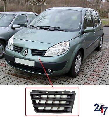 RENAULT CLIO MK2 2001-2006 pare-chocs avant Grille Insert