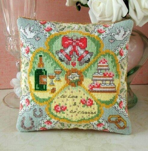 Wedding Mini Cushion Cross Stitch Kit Sheena Rogers Designs