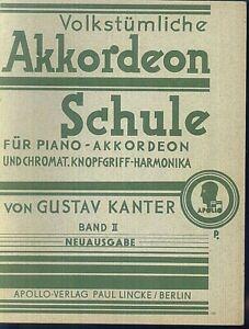 Gustav-Kanter-Volkstuemliche-Akkordeon-Schule-Band-2