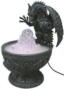 En Herbe Dragon Figurine Statue Avec Crystal Mountain (60% De Réduction Promotion!)-afficher Le Titre D'origine ImperméAble à L'Eau, RéSistant Aux Chocs Et AntimagnéTique