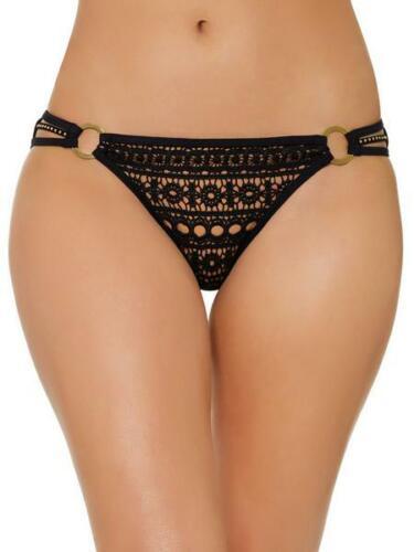 Ann Summers Maya Bas De Bikini Taille 8 Neuf Avec étiquettes RRP £ 14 UE 34 Clous Tige