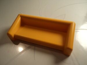 PLAYMOBIL-canape-lit-jaune-convertible-moderne-maison-de-vacances-3230-2002