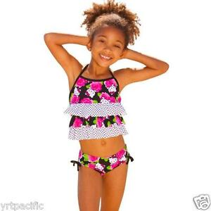 2ee471c7e7 Hello Kitty Tankini Set Kids & Toddler Size 2T 3T 4T 4 5/6 6X Girls ...