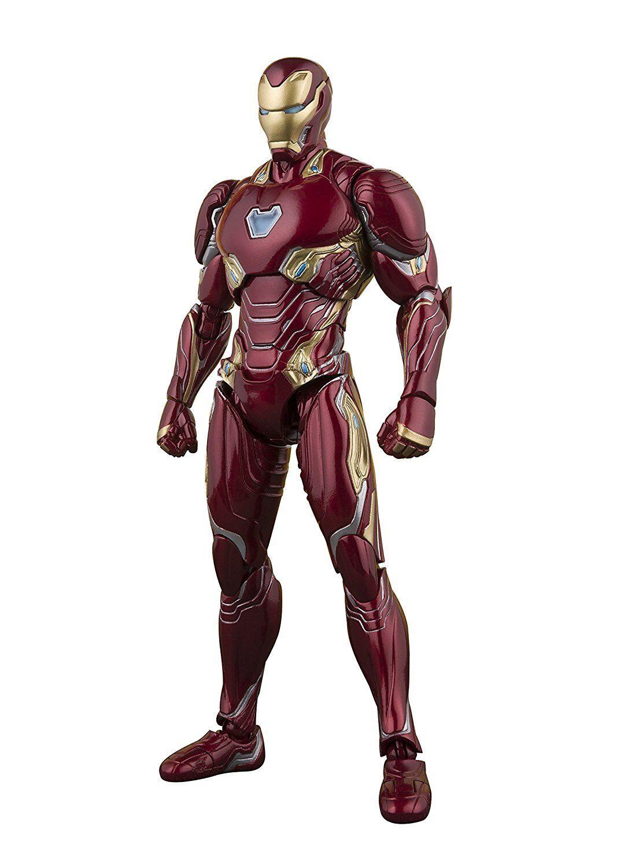Bandai S.H. Figuarts Iron Man Mark 50 Vengadores Infinito Guerra Figura De Acción Marvel