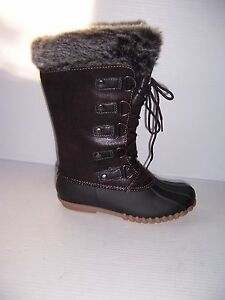 1b392d990d6e7 Yuu Fiona Women s Black Cold Weather Mid-Calf Boots SIZES 6   8 NEW ...