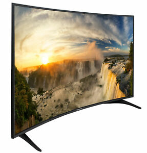 Image Is Loading Curved Led Tv 65 Inch Television Full Hd