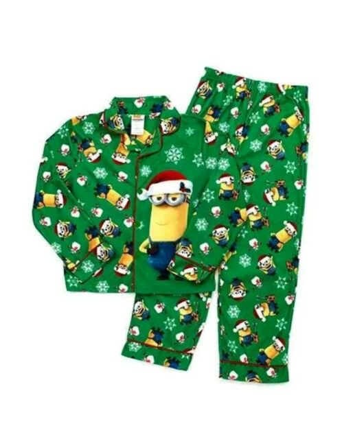 Despicable Me Boys Minions 2-Piece Fleece Pajama Set Pajama Set