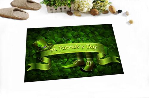 "St.Patrick/'s Day Non-Slip Bathroom Floor Decor Carpet Bath Mat Rug Carpet 24x16/"""