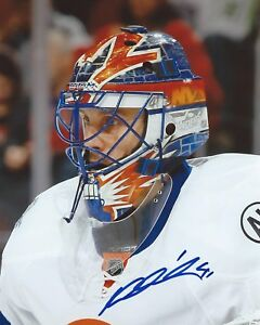 size 40 5cf51 08665 Details about Jaroslav Halak Signed 8x10 Photo New York Islanders  Autographed COA D