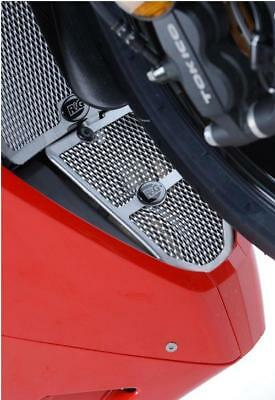 Honda CBR1000RR Fireblade 2013 R/&G Racing Downpipe Grille DG0006BK Black