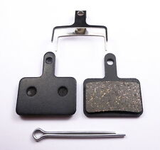 1 pair of Organic Resin Brake Pads for Shimano Deore - B01S B01 INCL SPLIT PIN