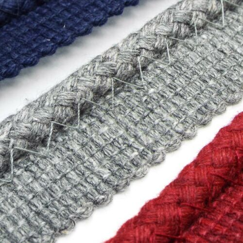 7mm Natural Look Cotton Mix Piping Flanged Cord Cushion Seam Costume BUY 1 2 4m