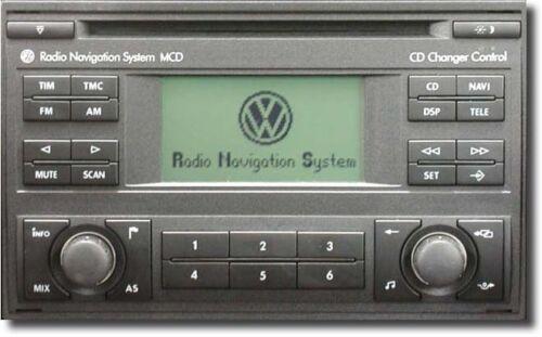 Código de radio de coche VW RCD510 servicio de desbloqueo RCD 510 rápido
