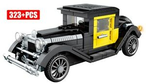 NEW Ford Model T Classic Retro Car Model Custom Full Set fit Technic Block Brick