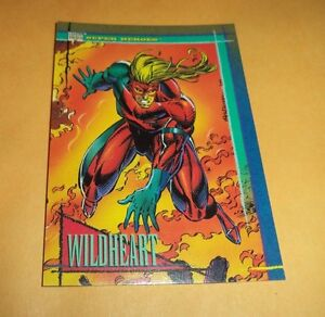 Wildheart # 39 - 1993 Marvel Universe Series 4 Base Trading Card