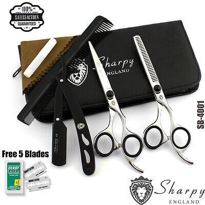 "Professional Dog Cat Hair Cutting//Thinning Pet Grooming Scissors Shears Set 5.5/"""