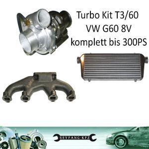 TURBOKIT-Conversion-g-lader-VW-G60-8v-1-8lL-2-0-L-GOLF-2-3-PASSAT-CORRADO