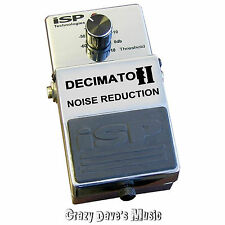 ISP Technologies Decimator II Noise Reduction Pedal Version 2 V2