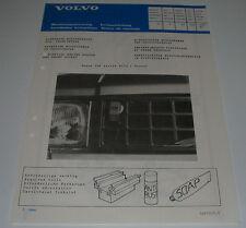 Einbauanleitung Volvo 340 343 / 360 elektrischer Motorwärmer Motor B172 / Diesel