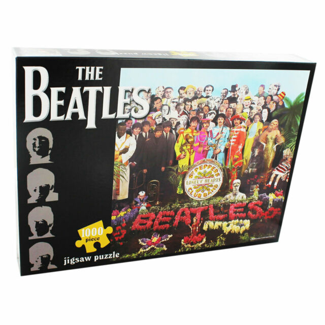 The Beatles Sgt Pepper Jigsaw Puzzle - 1000 Pieces