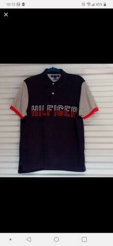 Mens tommy hilfiger polo shirts medium