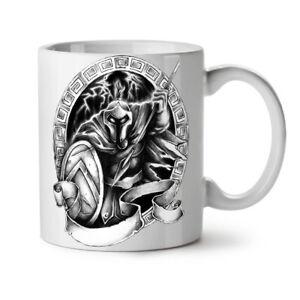 Spartan Warrior NEW White Tea Coffee Mug 11 oz | Wellcoda