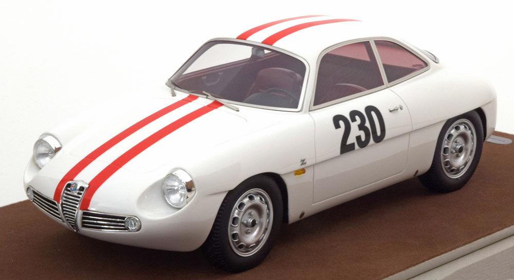 Technomodellller Alfa Romeo Giulietta SZ chauinskand Freiburg 1962 Fiskebaber  18