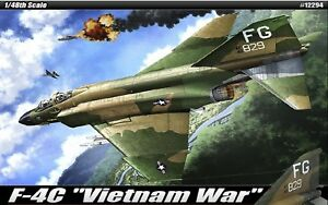 1-48-US-AirForce-F-4C-Phantom-II-034-Vietnam-War-034