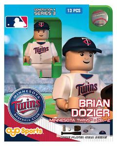 Joe Mauer OYO Minnesota Twins MLB Mini Figure NEW G4