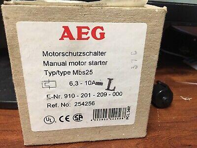 AEG 910-201-209 Starter MBS25 910-201-209-000 6,3-10A