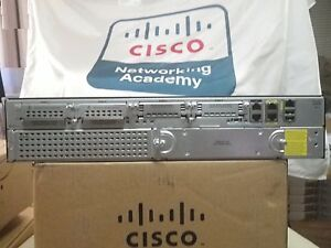 Details about Cisco 2911-V/K9 Voice Router ISR 15 1 IOS UC/K9 License 2900  *1-Year Warranty!*