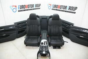 BMW-7er-G11-Comfort-Sedili-Interni-IN-Pelle-Dakota-Nero