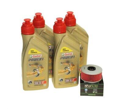 Oil Change Set 4l Castrol 10w-50 + Oil Filter hf163 for