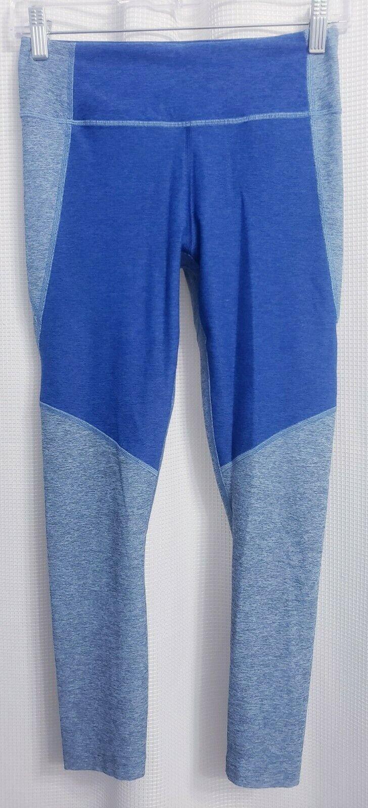 Outdoor Voices Blue Capri Leggings Women's size SMALL