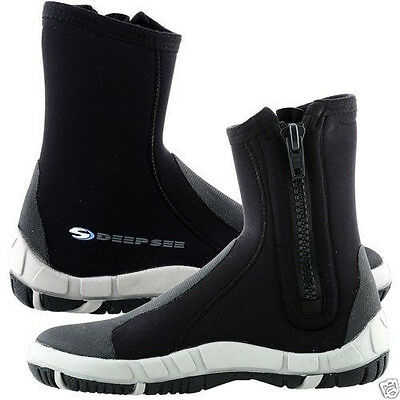 Efficient 6.5mm Neoprene Boots Water Sports Scuba Diving Equipment Dredge Deep See Manta Agreeable Sweetness Sporting Goods