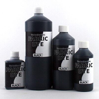 BLACK Liquid FABRIC Dye All SIZES for Upholstery, Sofa, Clothes, Denim, Shoe etc