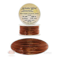 24 Gauge Copper Artistic Craft Wire 30 Feet 9.14 Meters Jewelry Beading Crafts