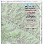 Verdugo Mountains Trail Map- by Tom Harrison Maps Folded Sheet Map