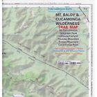 Verdugo Mountains Trail Map by Tom Harrison Folded Book English Shipp